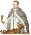 logo :  La Congrégation des Saints Nicolas et Bernard de Mont-Joux (chanoines du Grand-Saint-Bernard)